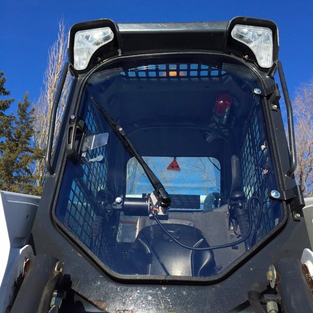 Skid Steer Replacement Cab for Bobcat M Series Front View & Bobcat Skid Steer Replacement Cab Door | Skid Steer Solutions