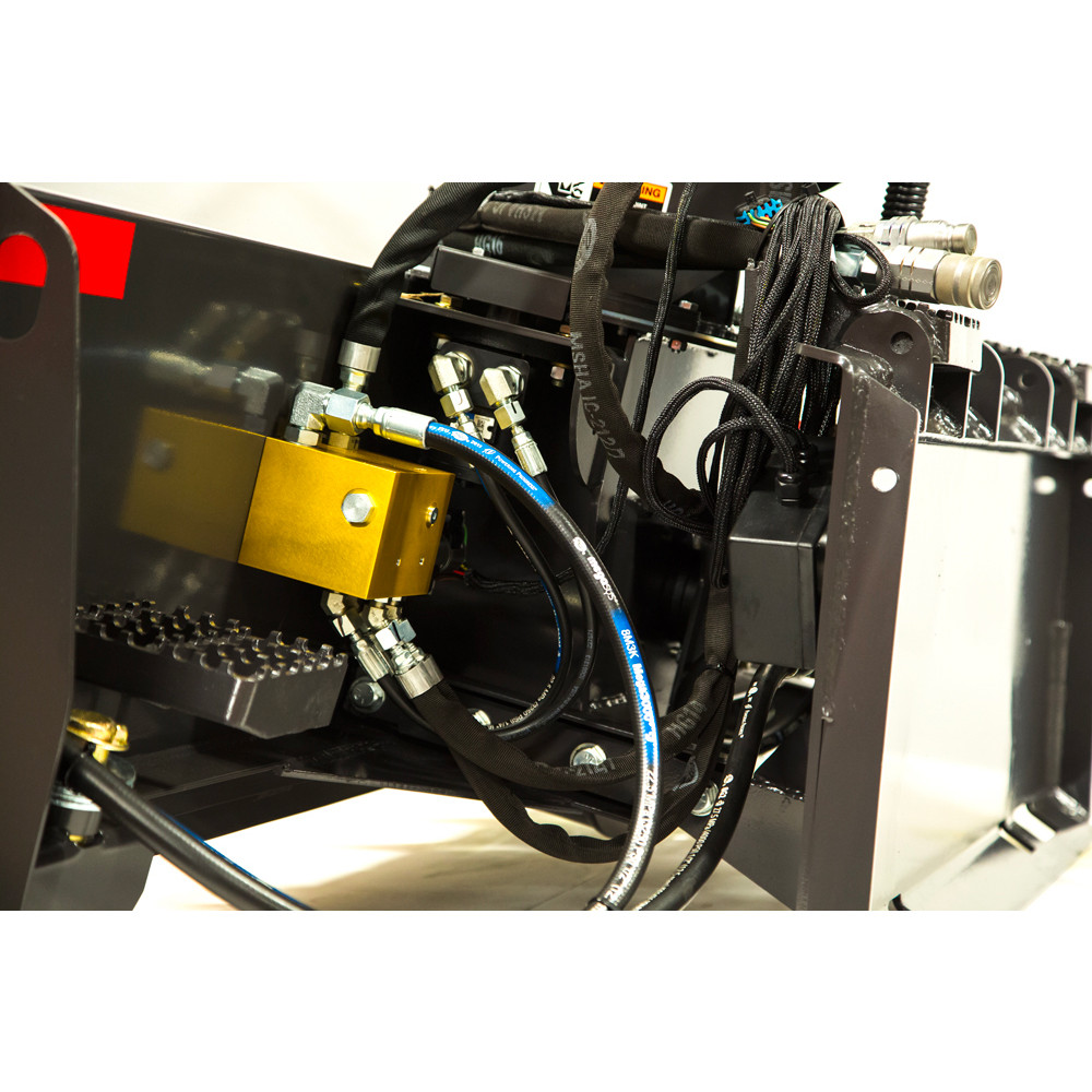 fcc mini skid steer snow blower attachment detail
