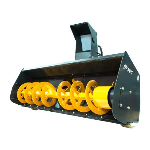 FCC Mini Skid Steer Snow Blower Attachment