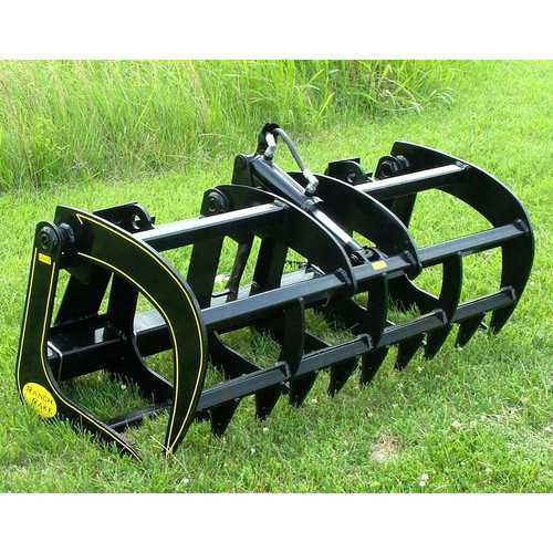 Ranch Rake Grapple Attachment for Skid Steer Loader