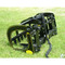 Skid Steer Mount allows this Ranch Rake Grapple to function on machine