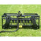 Ranch Rake Grapple Attachment for Skid Steer Loader Back View