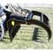 M&M Skid Steer Extreme Series Hydra Rake Attachment Machine View