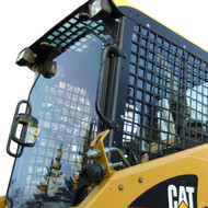 Skid Steer Cab Enclosure for Caterpillar