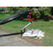 Teleboom Pallet Carrier Attachment for Skid Steer Loader Machine View