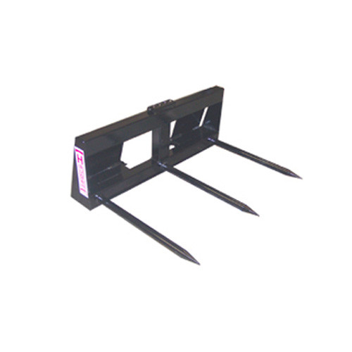 Square Bale Spear Attachment Cold Rolled Steel