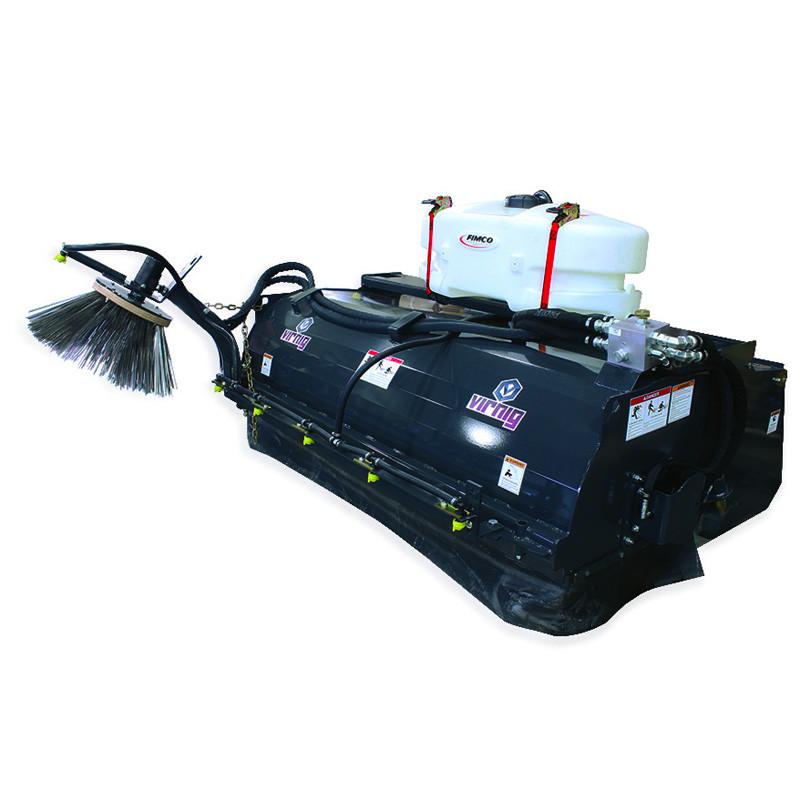 Virnig Pick Up Broom Attachment Skid Steer Solutions