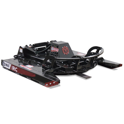 The Virnig Rotary Brush Cutter  with an Open Front Deck Attachment allows you to tackle any mowing task
