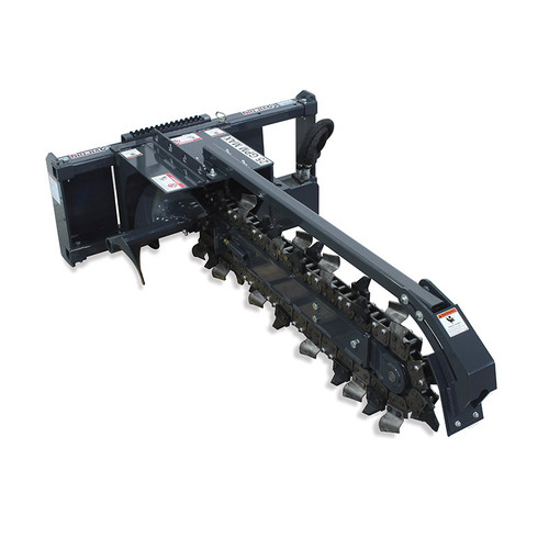 Trencher Skid Steer Attachment for Skid Steer Loaders