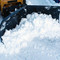 Heavy Duty V-Snow Blade Attachment Scoop Position