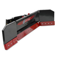 The Virnig Skid Steer Snow Pusher / Blade Attachment is a great combo for snow removal