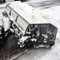 Heavy Duty Hydraulic Snow Blade/Pusher scooping snow