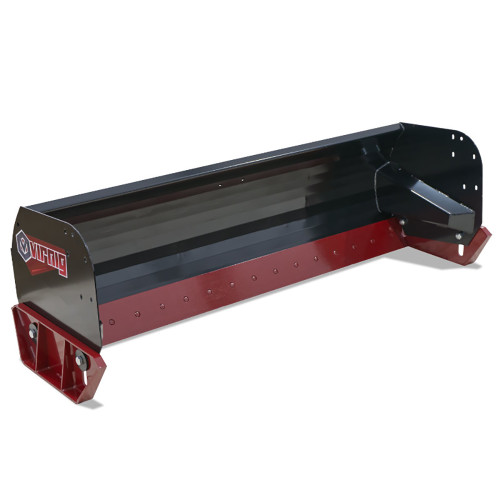 Virnig Heavy Duty Steel Edge Snow Pusher Attachment