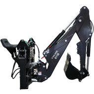 611B Skid Steer Backhoe Attachment from Bradco