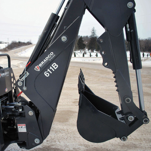 611B Skid Steer Backhoe Attachment
