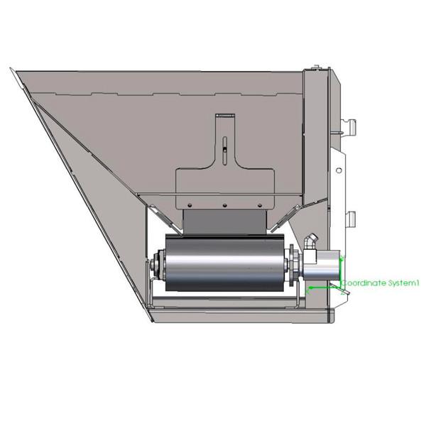 Skid Steer Side Discharge Bucket Attachment | FFC on