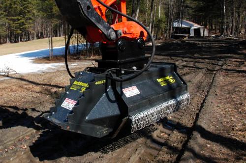 40EX HD Excavator Brush Flail Mower
