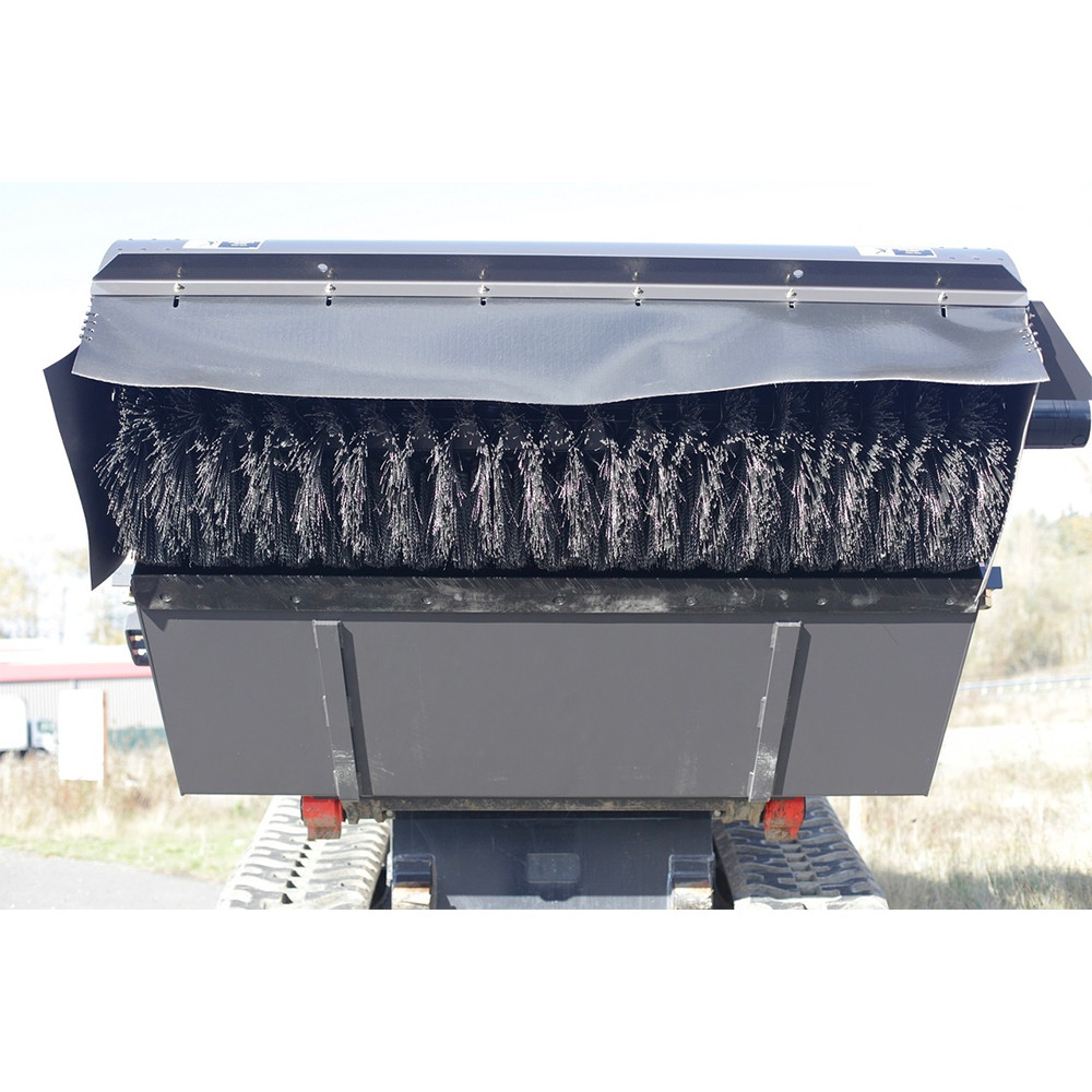 Sweepster Skid Steer Front Collector Rotary Broom | Skid