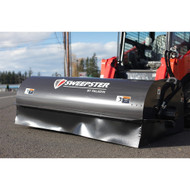 Paladin Sweepster Skid Steer Front Collector Rotary Broom - Machine View