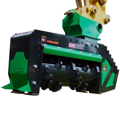 Rockhound FX36 Defender Excavator Forestry Mulcher