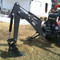 Mini Skid Steer 365 Backhoe Attachment with 180 degree rotation