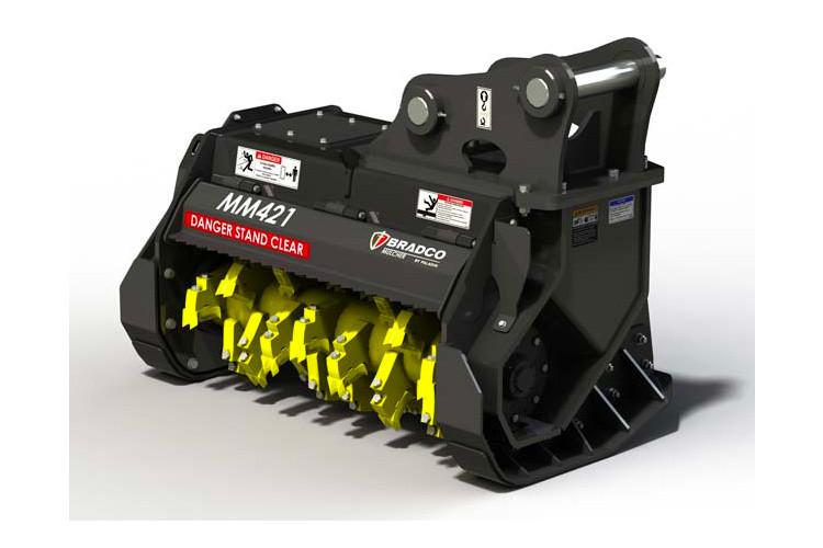Series II Excavator Mulcher Attachment | Bradco