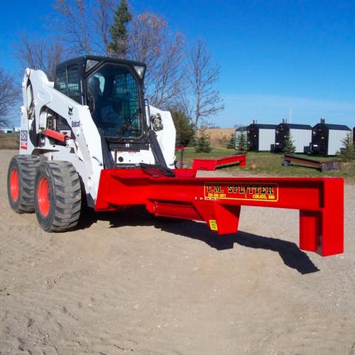 TM Heavy Duty Skid Steer Log Splitter Attachment