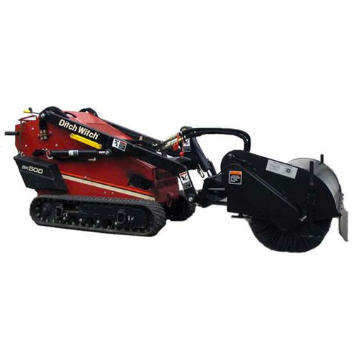 Sweepster Mini Skid Steer Angle Broom Attachment