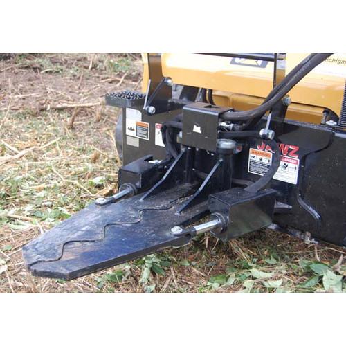 Mini Skid Steer JAWZ Grabbing Tool Attachment closed