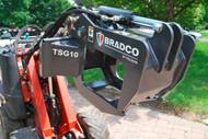 Bradco Mini Tree and Shrub Grapple Attachment