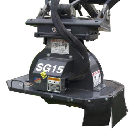 Bradco Mini Skid Steer Stump Grinder Attachment