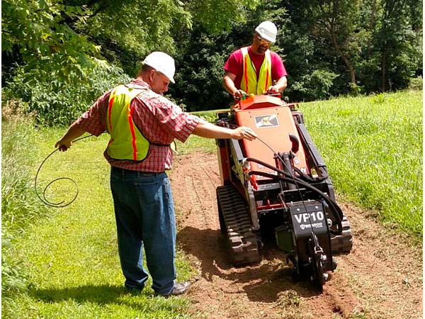 Mini Vibratory Plow Attachment | Bradco
