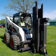 Bradco Skid Steer Post Driver Attachment