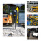 Stanley Skid Steer Concrete Breaker Attachment on Machines in Action