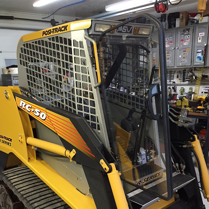 ASV/Terex Replacement Cab | Thermfast