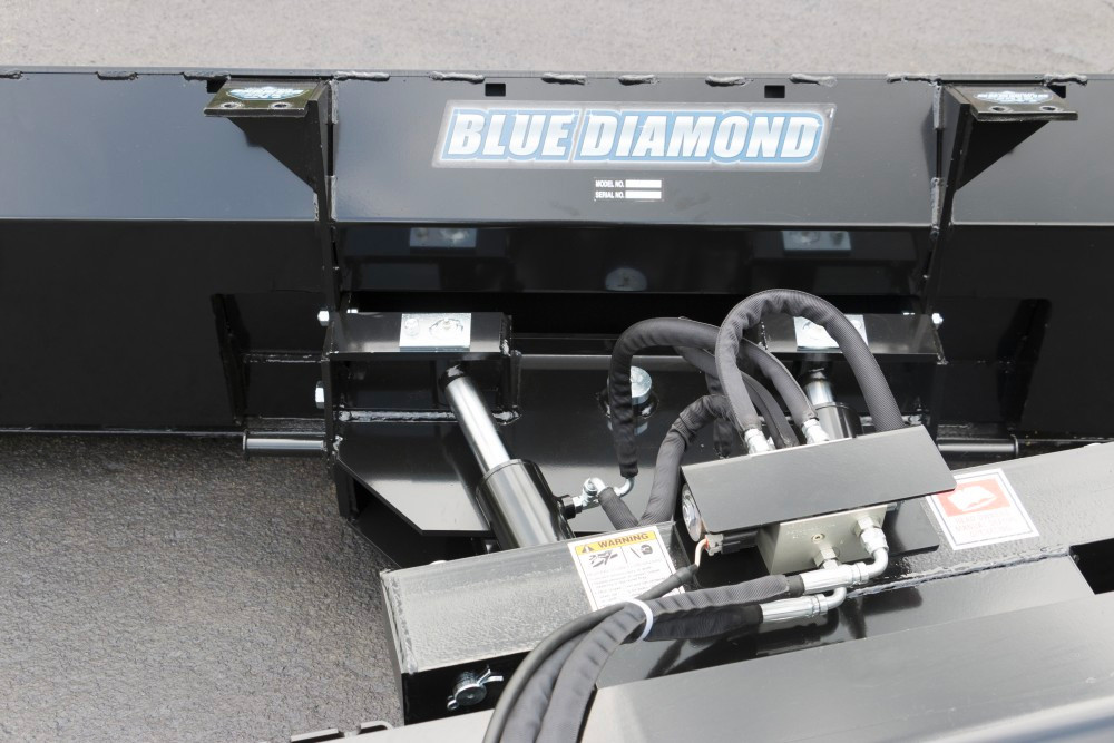 Skid Steer 6-Way Dozer Blade | Blue Diamond