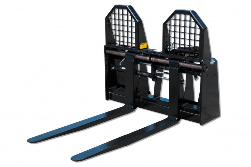 Blue Diamond Hydraulically Adjusting Pallet Forks