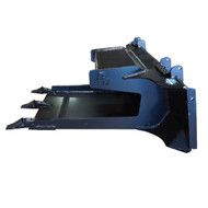 Blue Diamond Skid Steer Slab Bucket Attachment