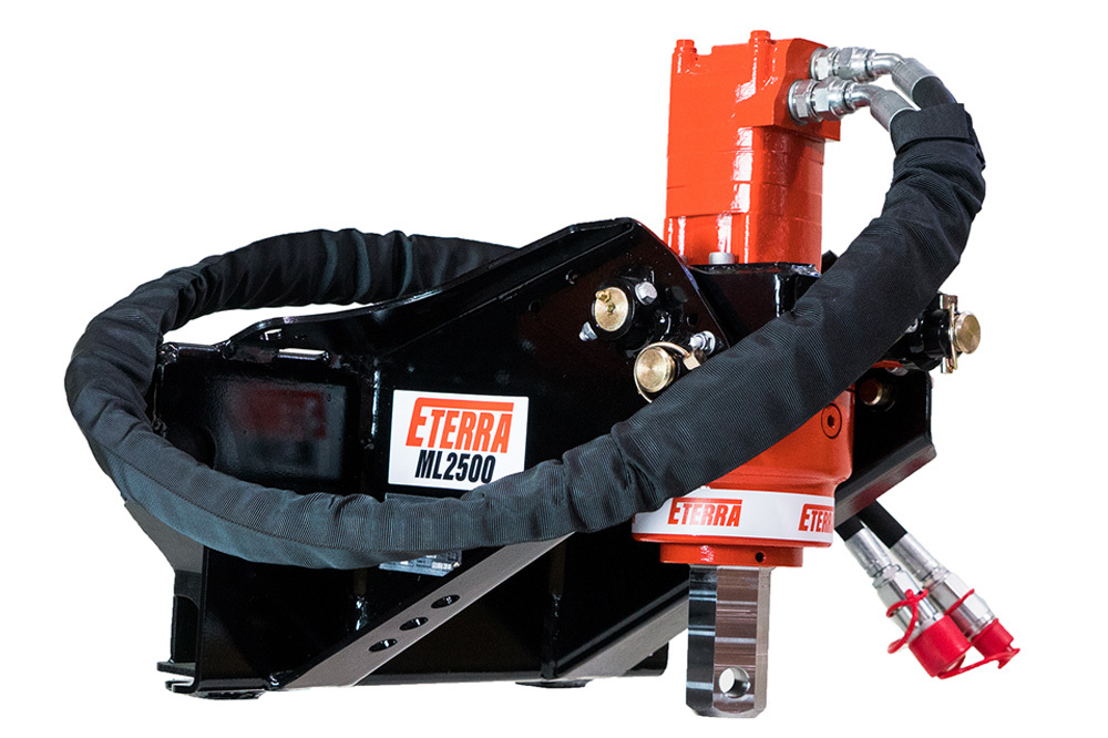 ML-2500 Mini Skid Steer Auger Attachment | Eterra