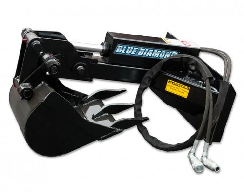 Blue Diamond Mini Skid Steer Backhoe Attachment