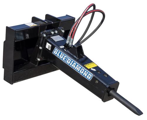 Blue Diamond Mini Skid Steer Concrete Breaker Attachment