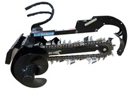 Blue Diamond Mini Skid Steer Trencher Attachment