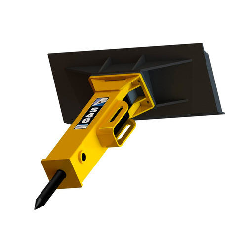 Arrowhead Mini Skid Steer Concrete Breaker Attachment
