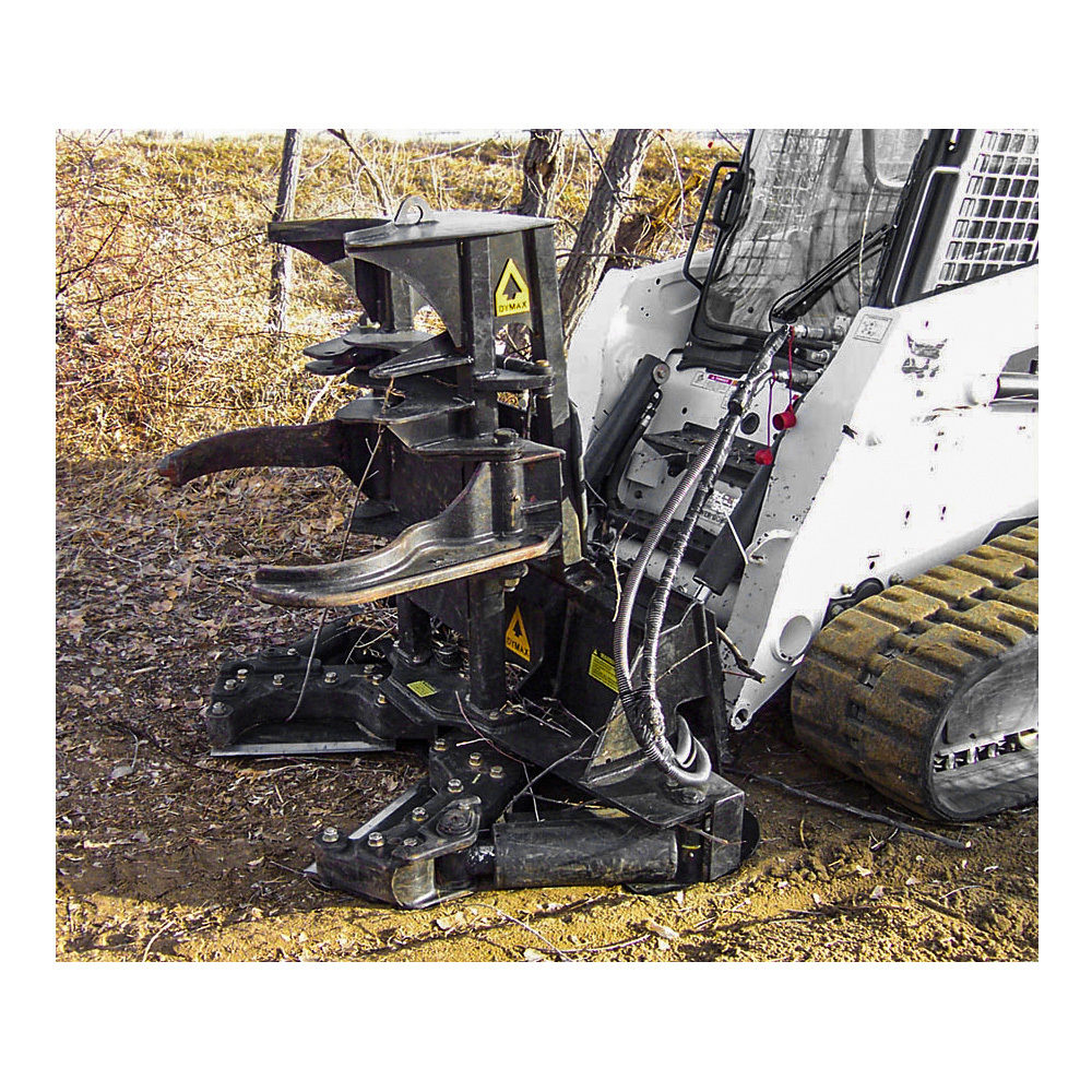 Timberwolf Forestry Grapple Tree Shear Attachment | Dymax