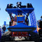 Vacuworx PS 1 on Mini Skid Steer Vacuum Lifting Attachment Front View