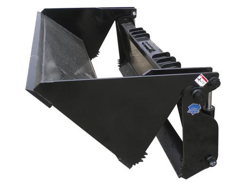 Blue Diamond Skid Steer 4-In-1 Bucket Attachment