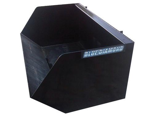 Blue Diamond Skid Steer Dumpster Bucket Attachment