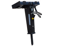 Blue Diamond Skid Steer Concrete Breaker Attachment