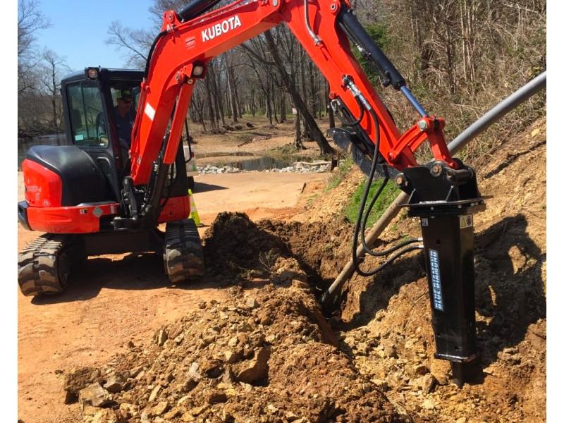 Excavator Concrete Breaker Attachment | Blue Diamond
