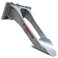 TM Manufacturing Skid Steer Spade Blade Attachment